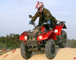 quad-fahren