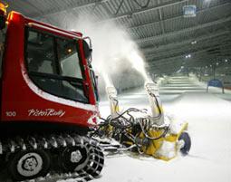 Pistenbully fahren Neuss 60 Minuten - in der Skihalle - inklusive Pistenbully Führerschein