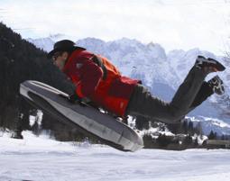 Airboarding Abtenau