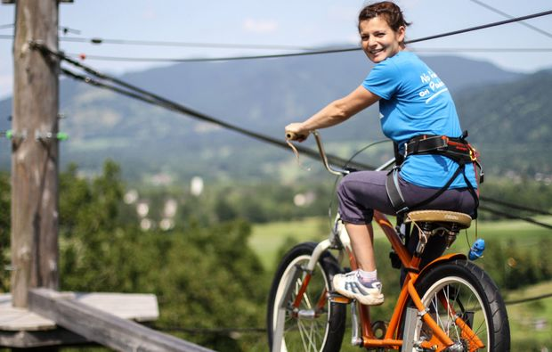 hochseilgarten-lenggries-fahrrad
