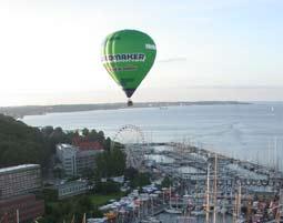 Ballonfahren   Kiel 60 - 90 Minuten