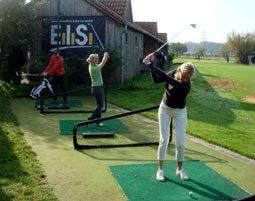 frau-golf