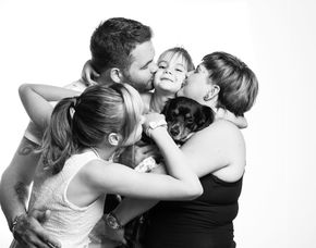 Familien-Fotoshooting - Mainz inkl. 2 Prints, ca. 1 Stunde