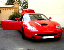 Ferrari selber fahren - Ferrari 550 Maranello - 60 Min - Potsdam Ferrari 550 Maranello - Ca. 60 Minuten
