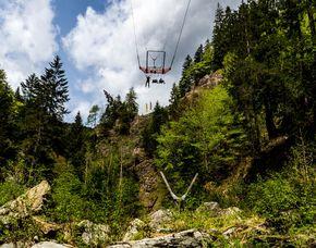 Mega-Dive   Kötschach-Mauthen Riesenschaukel - Ca. 1 Stunde
