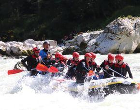 Rafting-Tour Saalach Saalach - Gesamtdauer: Ca. 3,5-4 Stunden (reine Raftingzeit: ca. 2,5 Stunden)