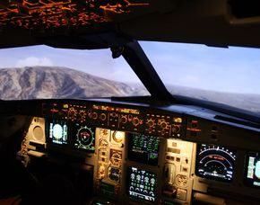 Full Flight-Simulator - Langstreckenflugzeug Langstreckenflugzeug - 3 Stunden