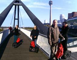 Segway Tour - Düsseldorf Geführte Segway Tour - Ca. 2 Stunden