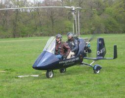 Tragschrauber-Rundflug - 30 Minuten 30 Minuten
