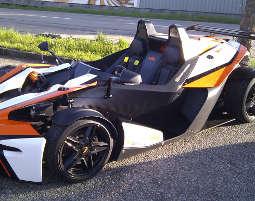 KTM X-Bow fahren Braunau am In...