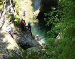 Canyoning-Tour Hirschegg