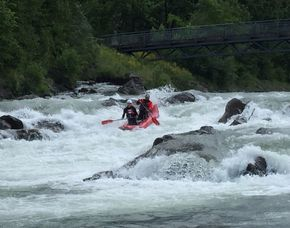 Einsteiger-Rafting-Tour auf der Iller - Halbtagestour - Immenstadt Iller - ca. 4 Stunden