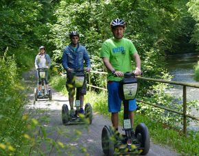 Segway Tour - Schwarzburg - Schweizerhaus Schwarzburg Thüringer Wald - ca. 1,5 Stunden