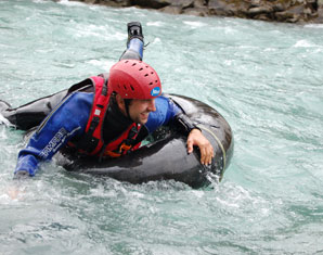 Canyoning und Tubing Package   - mit Übernachtung im Doppelzimmer Mayrhofen Canyoning & Tubing Tour - 2 Tage