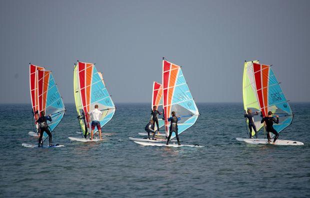 windsurf-kurs-schubystrand-damp-team