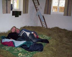 Übernachtung im Heu für Zwei - Vorra im Heu - 3-Gänge-Menü