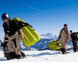 schnee-airboard-alpen