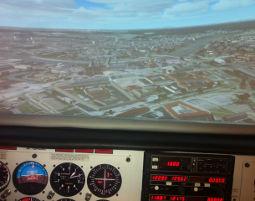 Erlebnisse: 3D-Flugsimulator Dresden