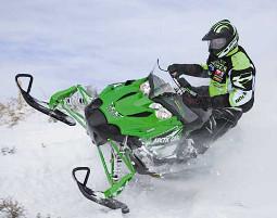 snowmobil-fahren