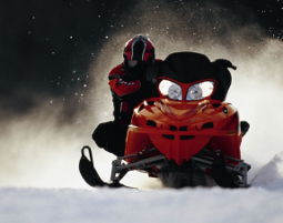 Snowmobil fahren - Innerkrems 1 Tag
