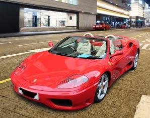 Ferrari fahren Frankfurt am Main
