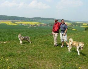 Husky-Trekking - Neuhof-Hauswurz Ca. 5 Stunden