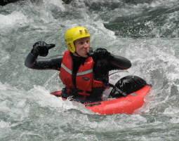 Bild Riverbugging & Hydrospeed - Wild im Wasser beim Riverbugging und Hydrospeed!