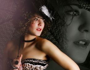 Burlesque-Shooting Schwerin inkl. Make-Up, 3 Prints & 3 Bilder digital, ca. 3 Stunden
