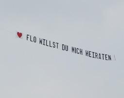 Bild Heiratsantrag in den Wolken - Romantische Rundflüge – gemeinsam über den Wolken