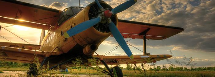 Doppeldecker-Rundflug