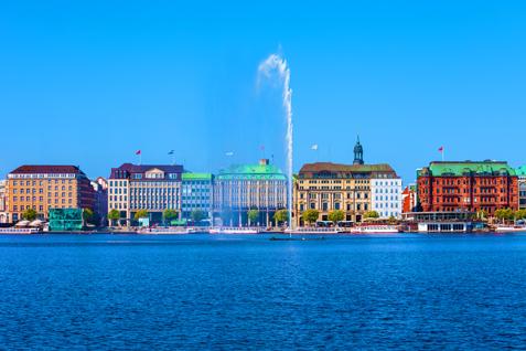 Alster Hamburg Schifffahrt
