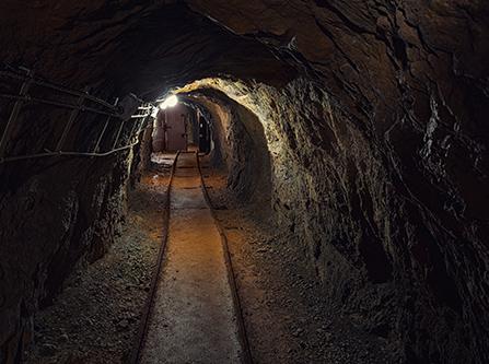 Tunnel im Bergwerk Bestwig-Ramsbeck