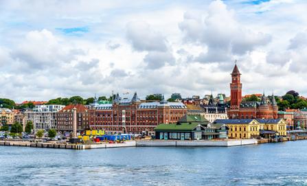 Stadtbild Helsingborg