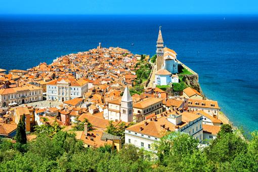 Piran Altstadt (Slowenien)