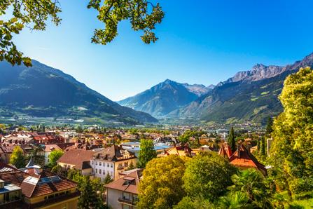 Meran Berge Südtirol
