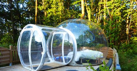 Bubble Hotel Dournazac Frankreich