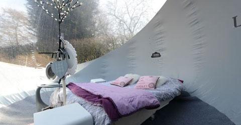 Bubble Hotel Paal Belgien