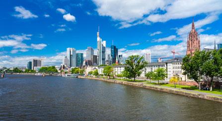 Uferpromenade Frankfurt