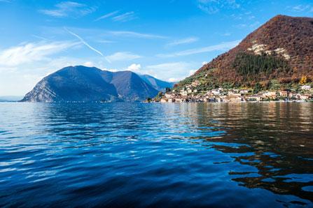 Iseo-See in Italien
