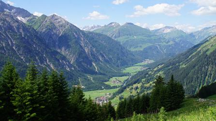 Alpen Lechtal Tirol