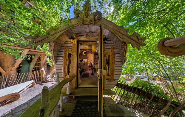 Baumhaus Frankreich baumhaus übernachtung urlaub im baumhaus mydays mydays