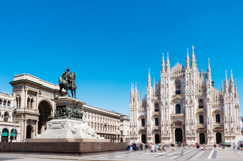 Mailänder Dom und Galleria Vittorio Emanuele II
