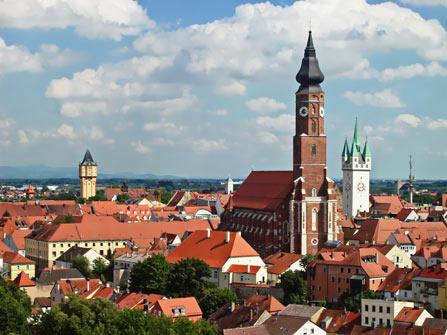 Altstadt von Straubing